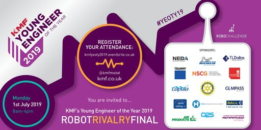 KMF YEOTY FINAL 2019: Robot Rivalry