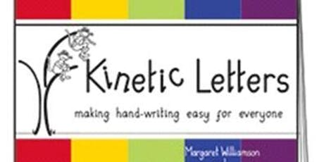 Kinetic Letters - Joining - Flow and Fluency Training - 4th October 2019 tickets