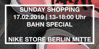 Shopping Sunday - Bahn Special