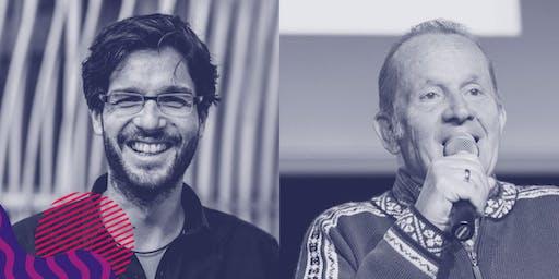 OÖN Wirtschaftsakademie - Robert Seeger sen. & Robert Seeger jun. - 15. Oktober 2019