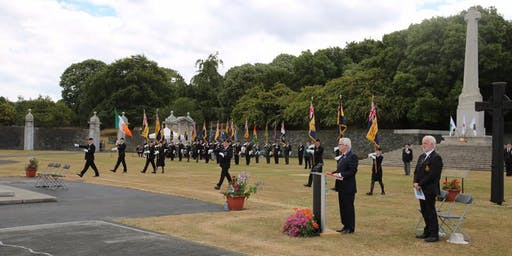 Royal British Legion ROI Annual Somme Ceremony of Remembrance and Wreath Laying