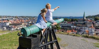 Turist i egen by Kristiansand 2019