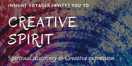 Creative Spirit - Spiritual discovery & Creative expression  tickets