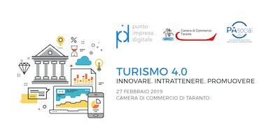 Turismo 4.0. Innovare, intrattenere, promuovere
