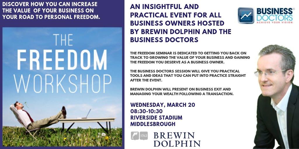 Freedom Seminar Middlesbrough - Increasing th