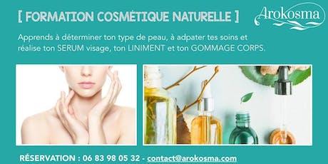Formation/Atelier Comprendre la cosmétique naturelle billets