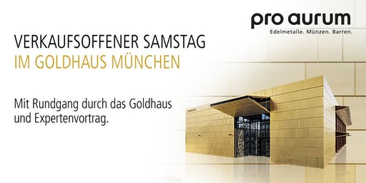 """19.10.2019 Goldhausführung & Vortrag: """"Vermögenssicherung mit GOLD und SILBER""""."""
