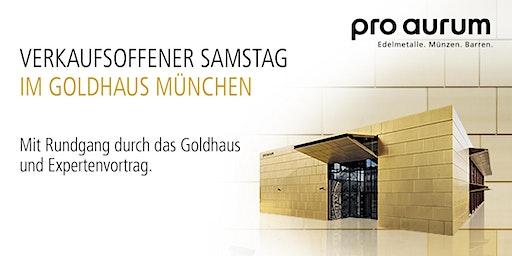 """14.12.2019 Goldhausführung & Vortrag: """"Vermögenssicherung mit GOLD und SILBER""""."""