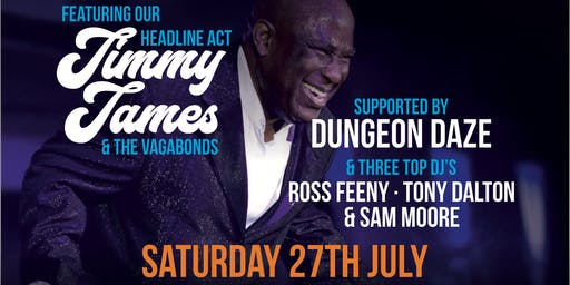 An Evening of Soul & Motown ft Jimmy James and the Vagabonds