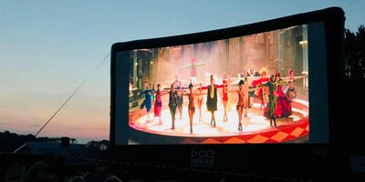 Open air cinema screening of The Greatest Showman