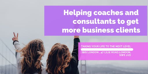Helping coaches and consultants to get more business clients