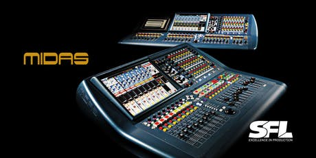 Midas PRO Series Consoles Training tickets
