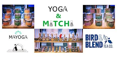 Yoga & Matcha at Bird & Blend - Borough Store tickets