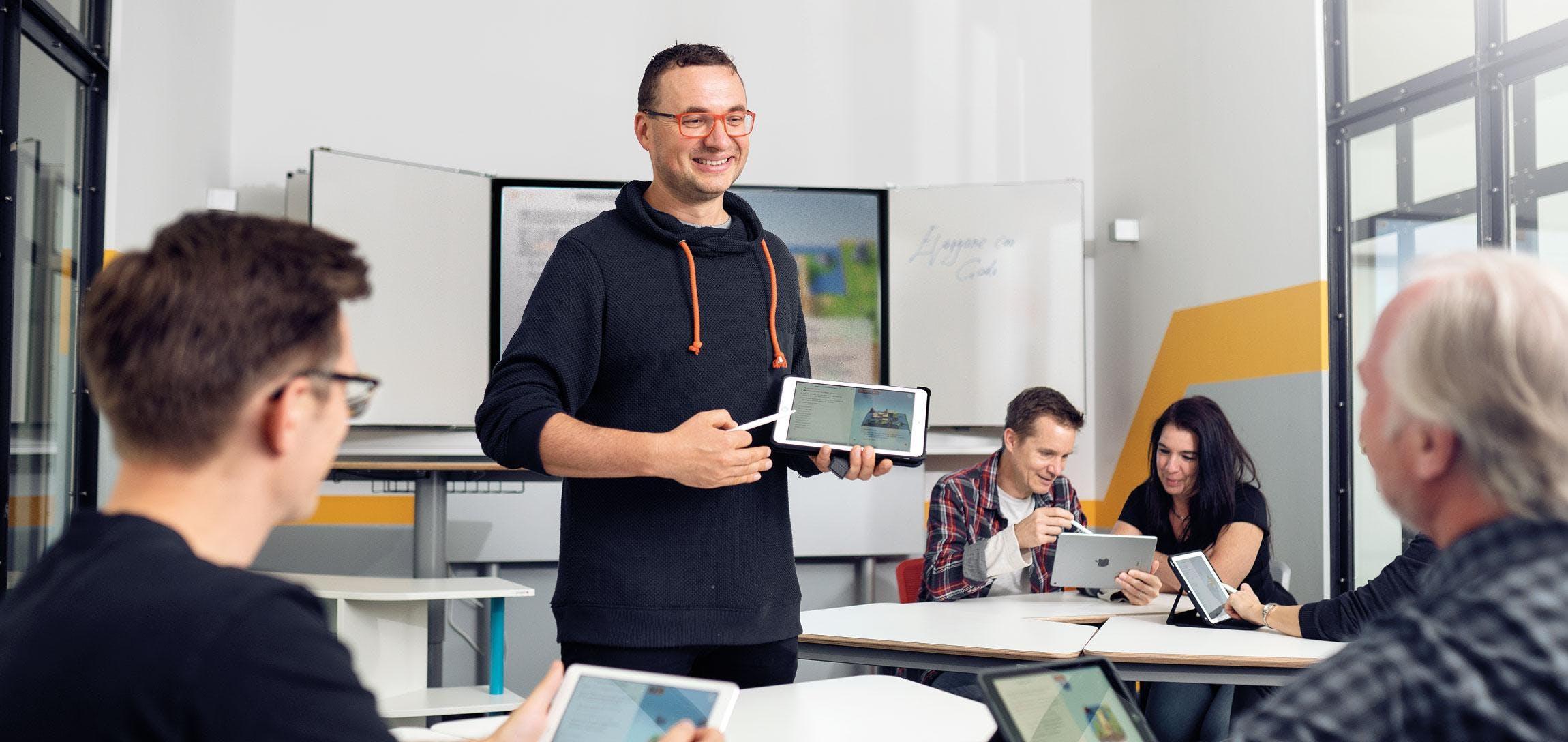 Apple Schoolworks (Christian Fahrig, GfdB)
