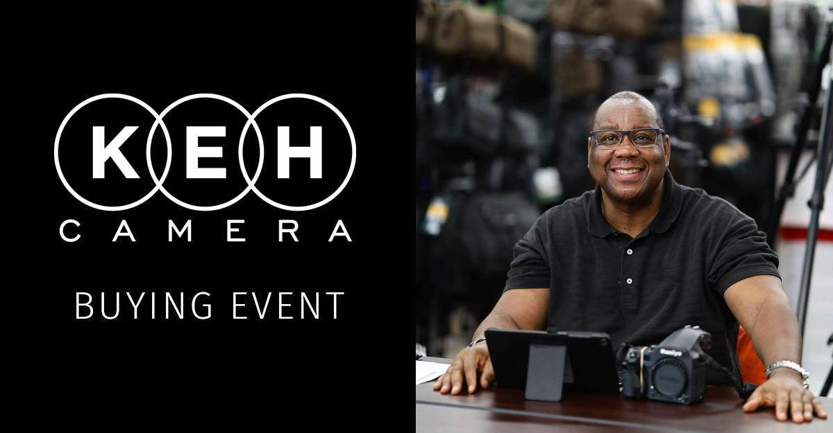 KEH Camera at Action Camera- Buying Event