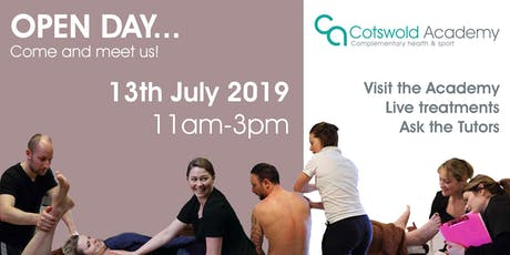 Cotswold Academy OPEN DAY 13th July 2019 tickets