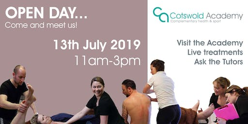 Cotswold Academy OPEN DAY 13th July 2019