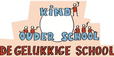 Gelukkige School: Anton Philips, Joseh Oubelkas, Bas van de Velde en Gelukskoffer