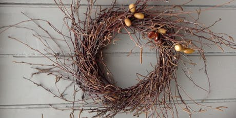 Wreath Making Workshop - adults  tickets