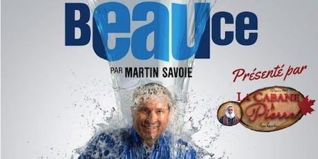 Souper-Spectacle Beauce par Martin Savoie billets