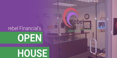rebel Financial Open House tickets