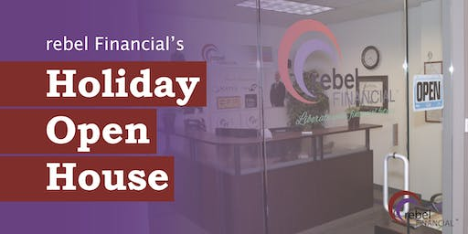 rebel Financial Holiday Open House