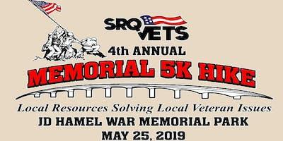4th Annual SRQ Vets 5k Memorial Hike