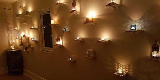 Restorative yoga and self massage