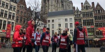 Gegidste looptour door Antwerpen