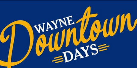 Volunteer for Downtown Days 2019 tickets