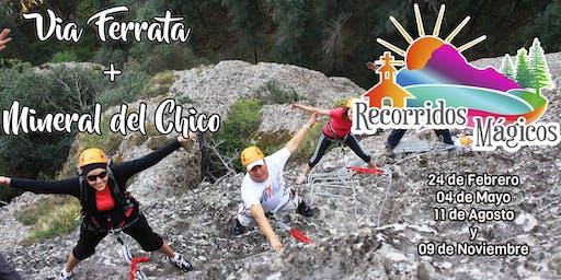 Mineral del Chico + Vía Ferrata