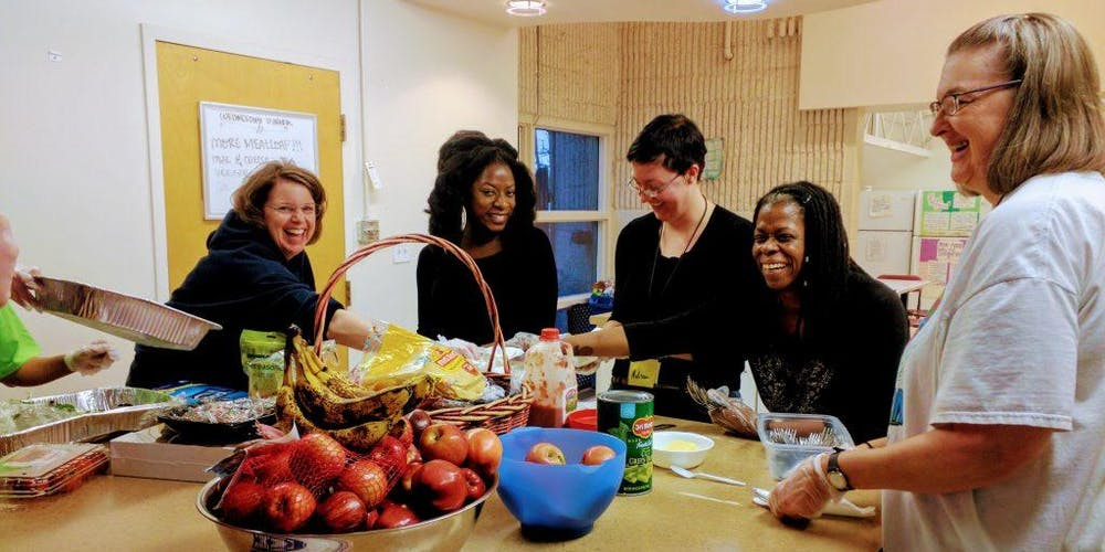 Serve Dinner to Women and Transgender Individuals in Need at The Delores  Pr..