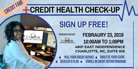 Credit Health Check-Up Fair tickets