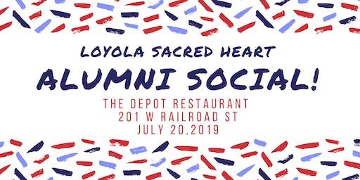 Loyola Sacred Heart Alumni Social