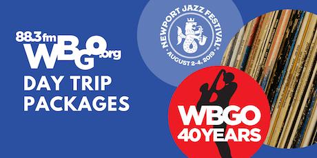 Newport Jazz Festival 2019: WBGO Bus Day Trips tickets