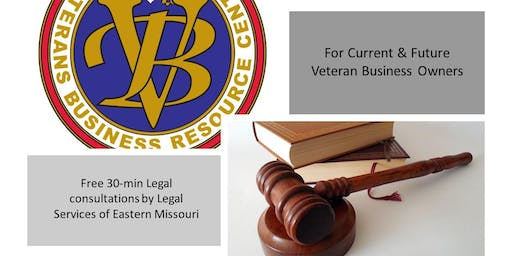VBRC Legal Clinic for Veteran Business Owners