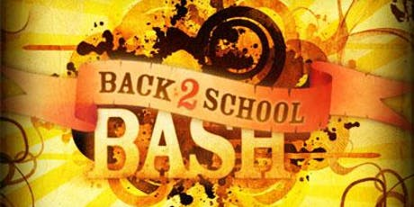 Back to School Bash 2019 tickets