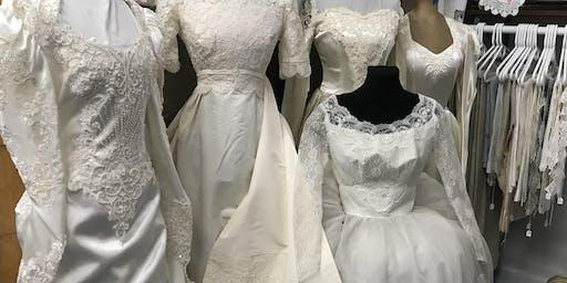 新娘展-复古新娘礼服/面纱/头饰只供捐赠!