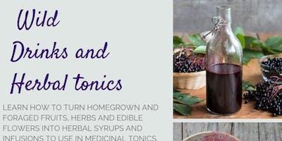 Wild Drinks and Herbal Tonics