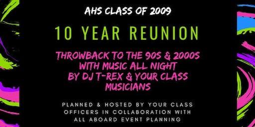 AHS 10 Year Reunion
