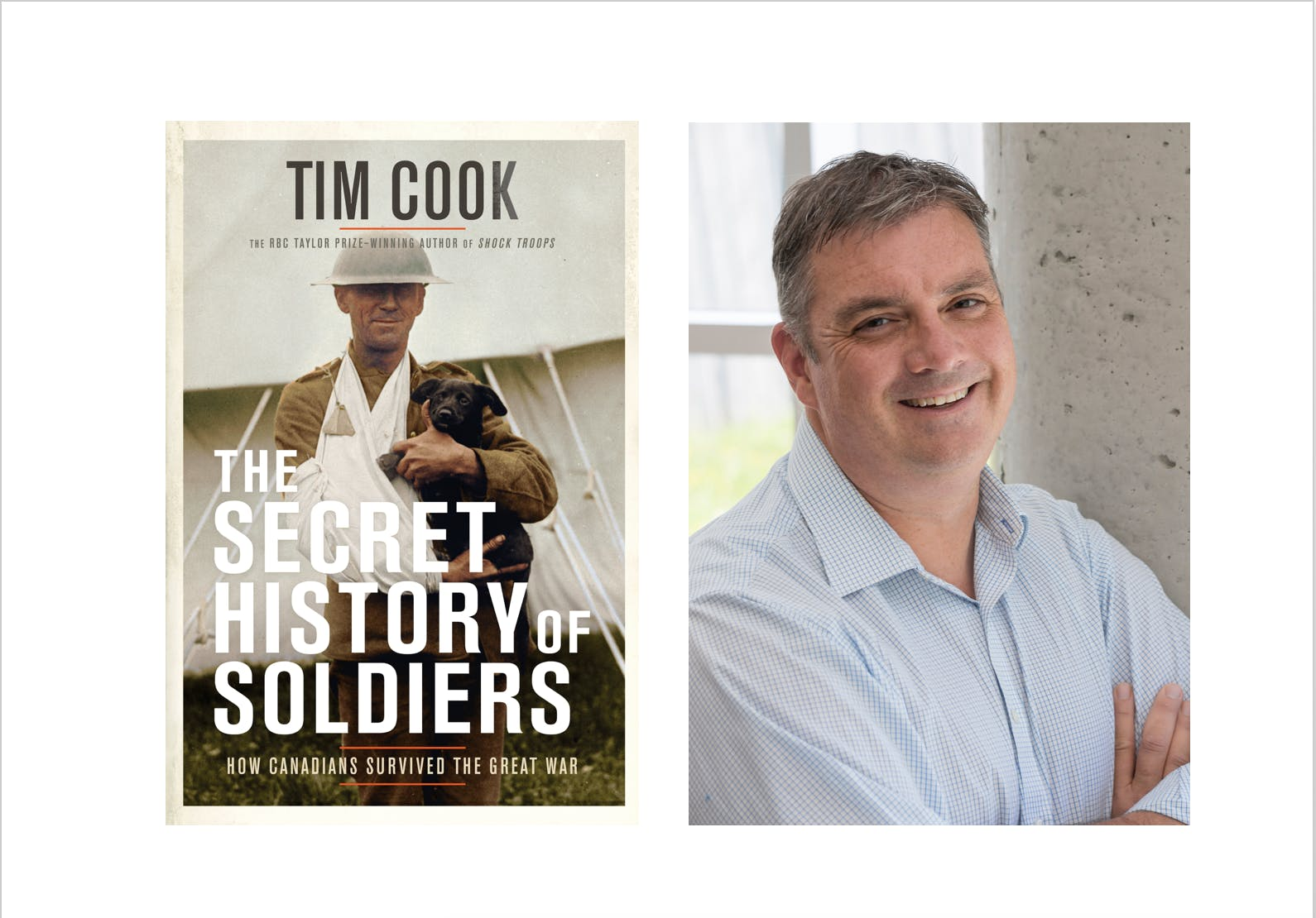 The Secret History of Soldiers: An Evening wi