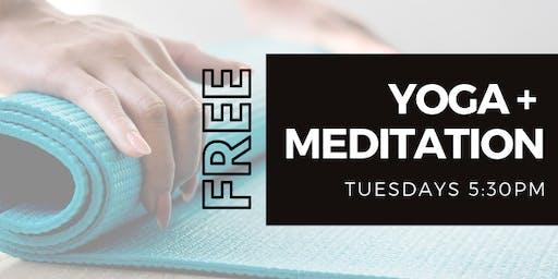 Free Yoga + Meditation