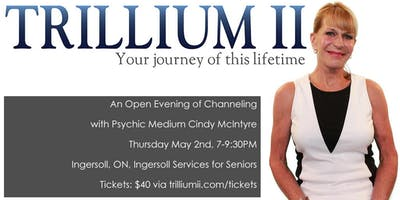 TILLSONBURG: An Open Evening of Channeling with Psychic Medium Cindy McIntyre