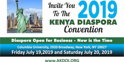 2019 KENYA DIASPORA CONVENTION
