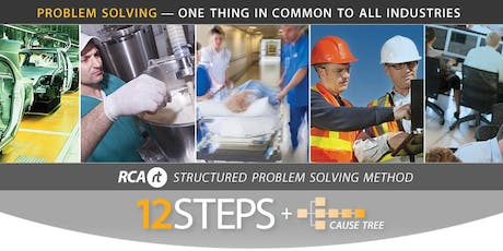 NZ - Root Cause Analysis (RCA) 12 Steps + Cause Tree | 2 day | RCARt tickets