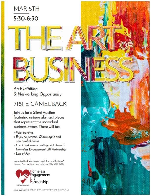 The Art of Business Exhibition and Networking Event