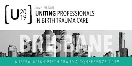 Uniting Professionals in Birth Trauma Care tickets