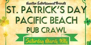 PACIFIC BEACH ST PATRICK'S DAY PUB CRAWL!