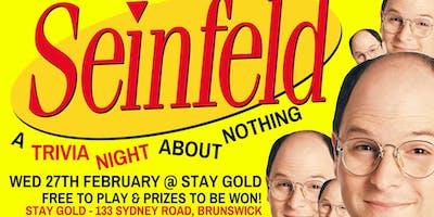 Seinfeld Trivia Night