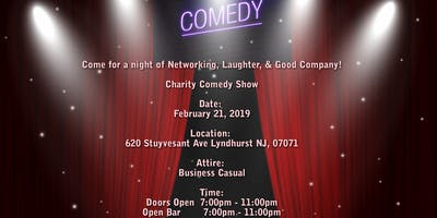 Business Networking Comedy Charity Event